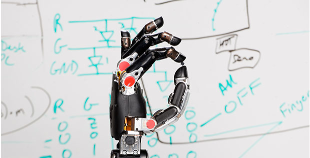 Cortex Robot Hand The prosthetic hand – with touch sensations